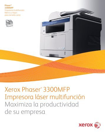 phaser magazines rh yumpu com Xerox WorkCentre 5875 xerox phaser 3300 mfp instruction manual