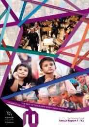 Annual Report 11/12 (pdf: 22.7mb) - Esplanade
