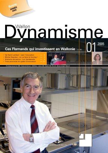 Dynamisme 180 pour pdf xp - Union Wallonne des Entreprises