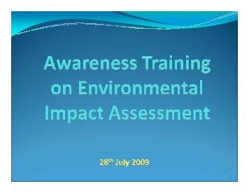 Draft EIA presentation. - REMA