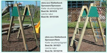 obra eco Kletterbock Sprossen/Sprossen Kiefer ... - Locuri de joaca