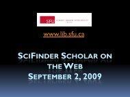 new - SFU Library - Simon Fraser University