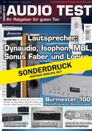 audio test - Isophon