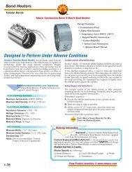 TEMPCO NHW00142 Band Heater,900 Deg F,2 In Dia.,120V