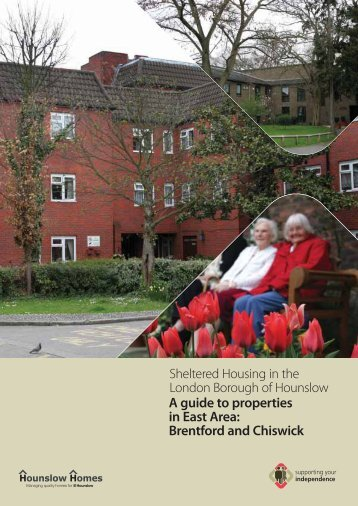 A guide to sheltered properties in East area - Hounslow Homes