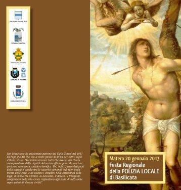 Programma - Regione Basilicata