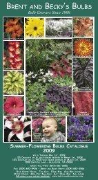 Bulb Growers Since 1900 - Brent and Becky's Bulbs!