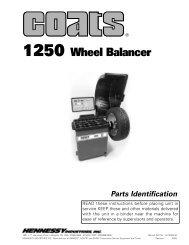 Coats 1250 Wheel Balancer - NY Tech Supply