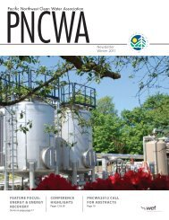 Pacific Northwest Clean Water Association Newsletter ... - pncwa