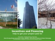 Incentives and Financing - The Smart Energy Design Assistance ...