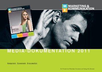 media-dokumentation 2011 - Rheintaler Druckerei und Verlag AG