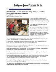 OUTDOORS: Local author uses baby steps to ease the uninitiated ...