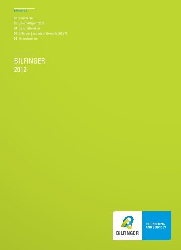 Fact Sheet - Bilfinger