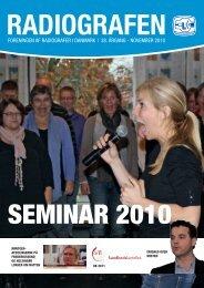 Radiografen 09, november 2010, årgang 38 - Foreningen af ...