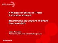Presentation title - Stoke-on-Trent City Council
