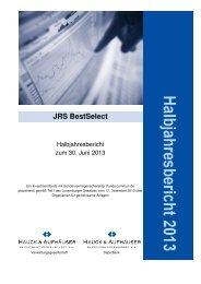 Halbjahresbericht - Hauck & Aufhäuser Privatbankiers KGaA