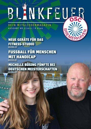 fussball für MeNscheN Mit haNdicap - OSC Bremerhaven