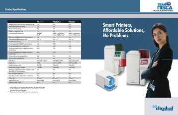 Nisca PR5350 Brochure - PR5350Bundle1 | ID Wholesaler
