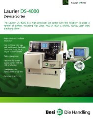Laurier DS-4000 Device Sorter Datasheet - MHz Electronics, Inc