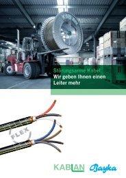 Flyer GKN Flex - Kablan AG