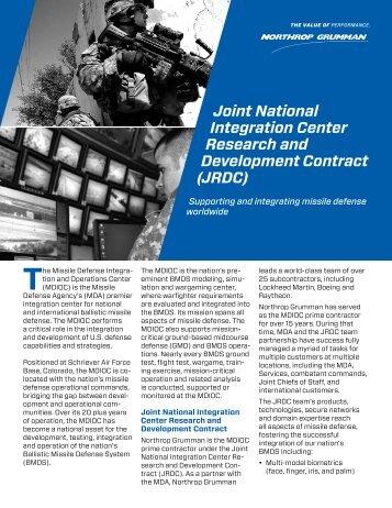 JRDC - Northrop Grumman Corporation