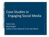 Case Studies in Engaging Social Media - Tourism Australia