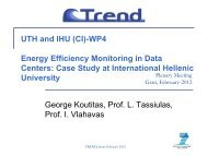 Energy Efficiency Monitoring in Small Scale Datacenters