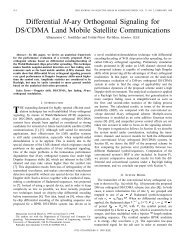 Differential M-ary Orthogonal Signaling For DS/CDMA ... - IEEE Xplore