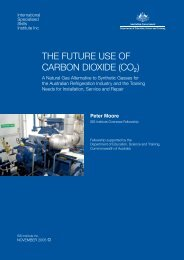 the future use of carbon dioxide (co2) - International Specialised ...