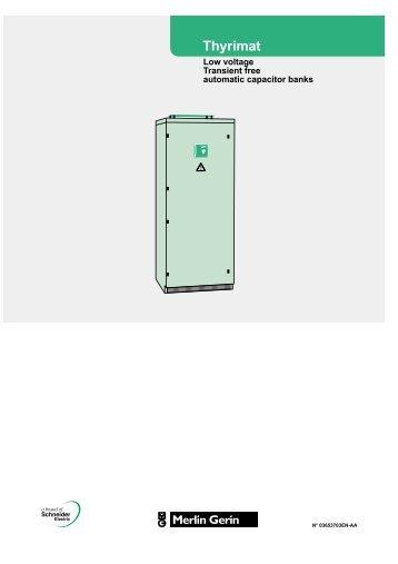 thyrimat user manual - engineering site - Schneider Electric