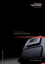 Product Catalog - NanoTemper Technologies
