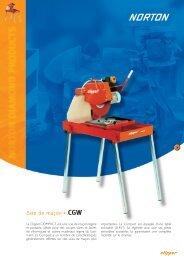 Scie de maçon CGW - Norton Construction Products