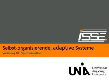 Vorlesung 10 -- Synchronisation - Institut für Informatik