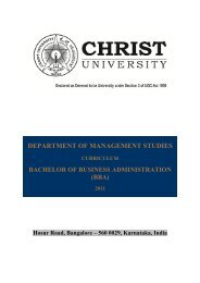 B Com syllabus can be downloaded here - Christ University