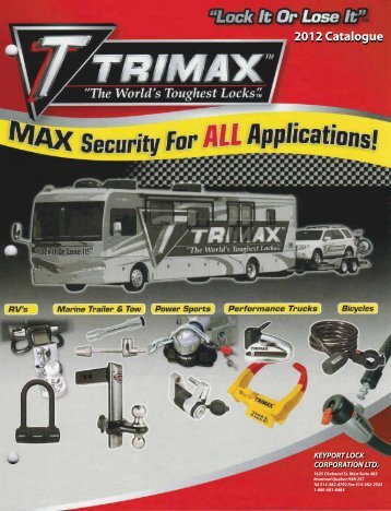 Trimax - Keyport Lock Corp