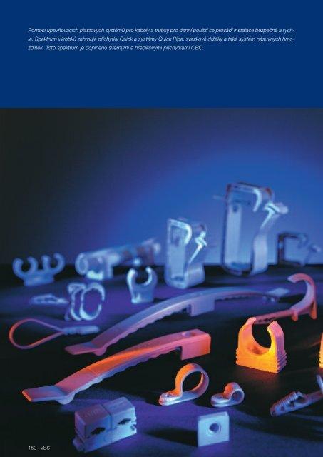 VBS. Upevňovací plastový systém trubek a kabelů - OBO Bettermann