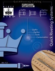 Download Quick Riveting Brochure - Purchase Partners