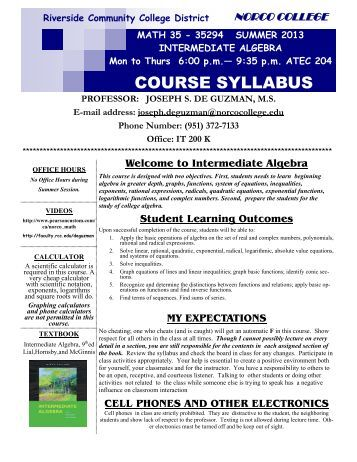 comm 107 course syllabus fall 2011 Courses & descriptions  registered students will receive a quick-start syllabus in the mail providing  nova is part of the virginia community college .