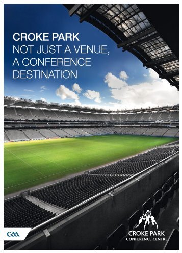 conference brochure - Croke Park