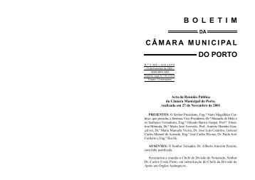 boletim 3435 - Câmara Municipal do Porto