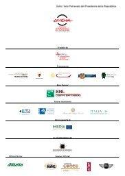 Prodotto da Promosso da Main Partner Partner Istituzionali Con il ...