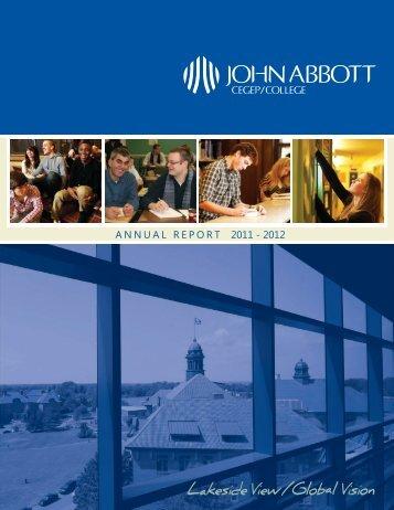 2011-2012 (English) - John Abbott College