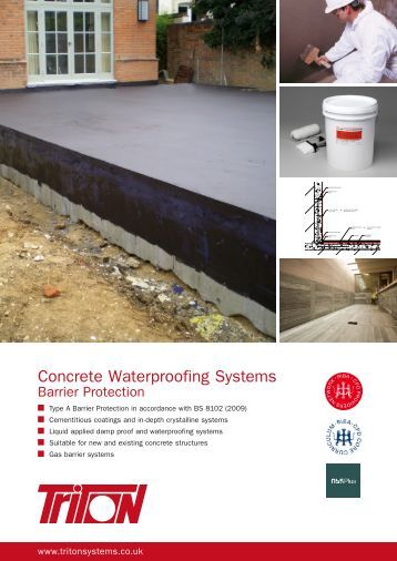 Waterproofing systems dr fixit