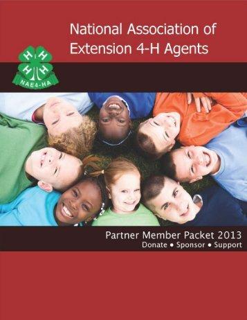 Partner Member Application - National Association of Extension 4-H ...
