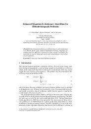 Enhanced Quantum Evolutionary Algorithms for Difficult Knapsack ...