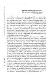 Diesen Teil aus MATRIX finden Sie hier als PDF - Mörike-Gesellschaft