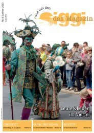 Das aktuelle Magazin (Ausgabe 8) - Rund um den Siggi