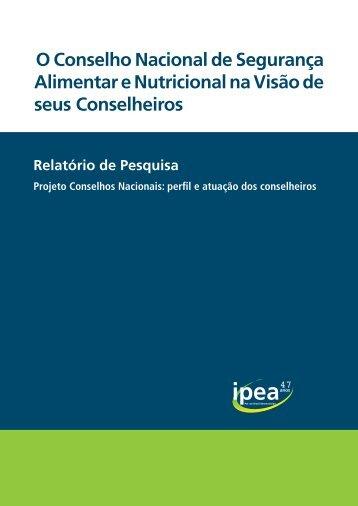 Relatório de Segurança Alimentar - SST
