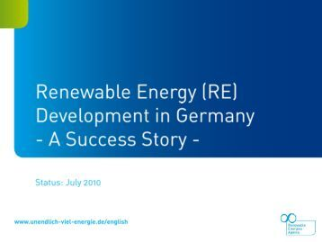 Contribution of renewable energy sources to heat supply in ...