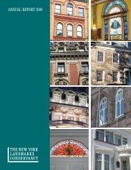 ANNUAL REPORT 2008 - The New York Landmarks Conservancy